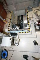 Leaktesting of beamline through cable tunnel